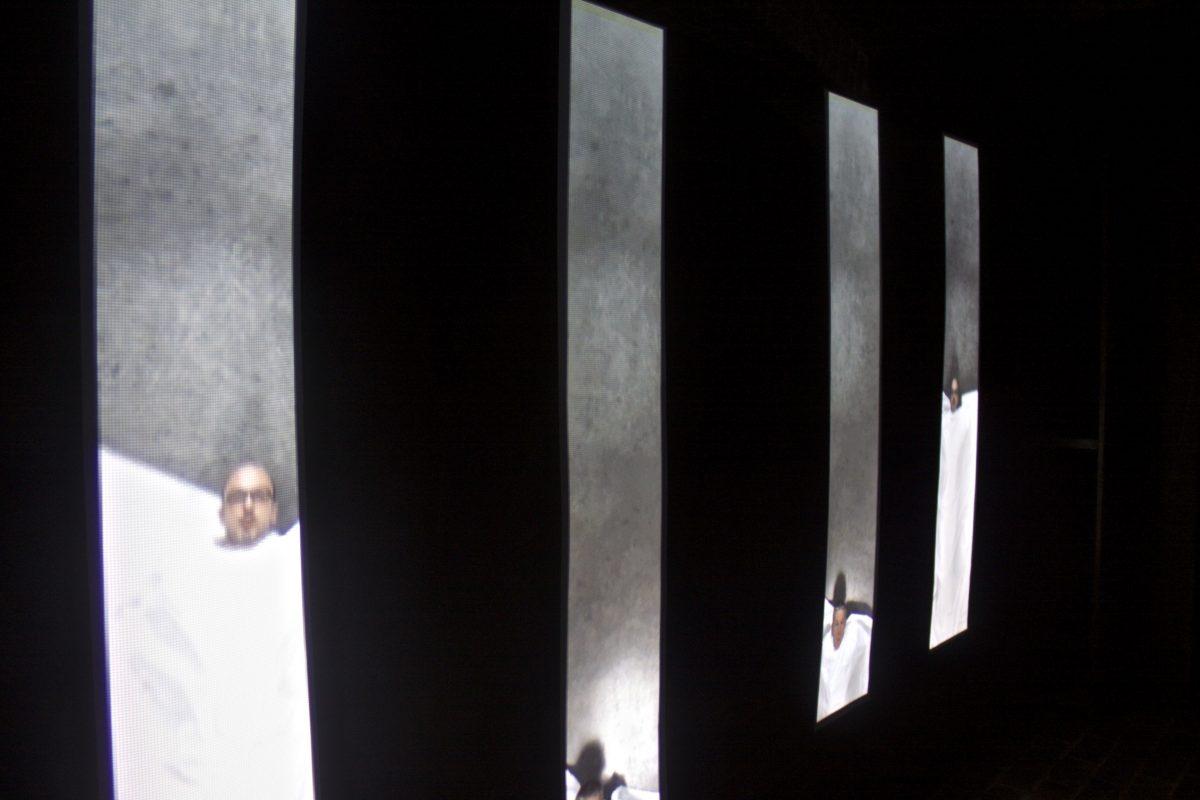 DIVARIATIONS - Installation vidéo - Chapelle du Foyer Entr'aide Ste-Marie, Rouen