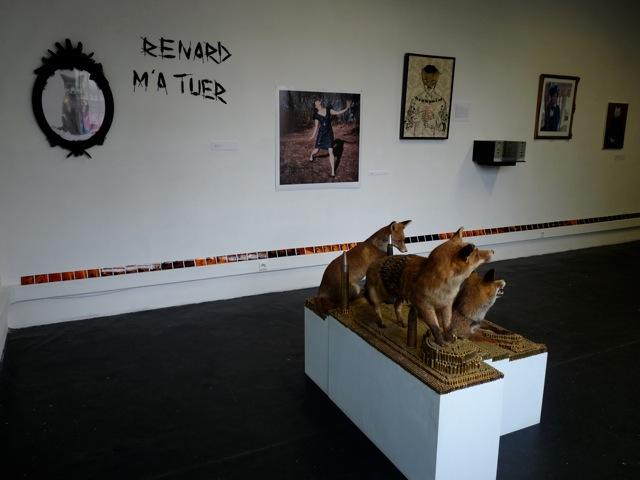 Exposition Le renad, Satellite Brindeau.